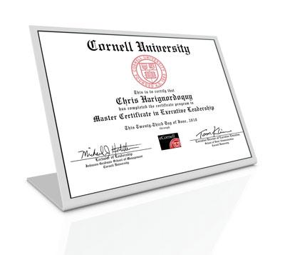 Online Certificate Programs Cornell University Online